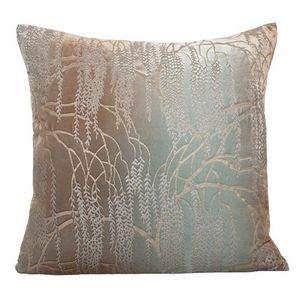 Kevin O'Brien Studio - Metallic Willow Velvet Dec Pillow - Antique