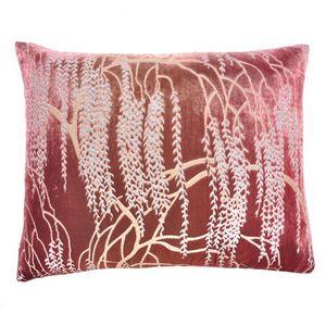 Kevin O'Brien Studio - Metallic Willow Velvet Dec Pillow - Desert Rose