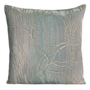 Kevin O'Brien Studio - Metallic Willow Velvet Dec Pillow - Robin's Egg