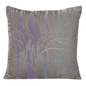 Kevin O'Brien Studio - Metallic Willow Velvet Dec Pillow - Cornflower