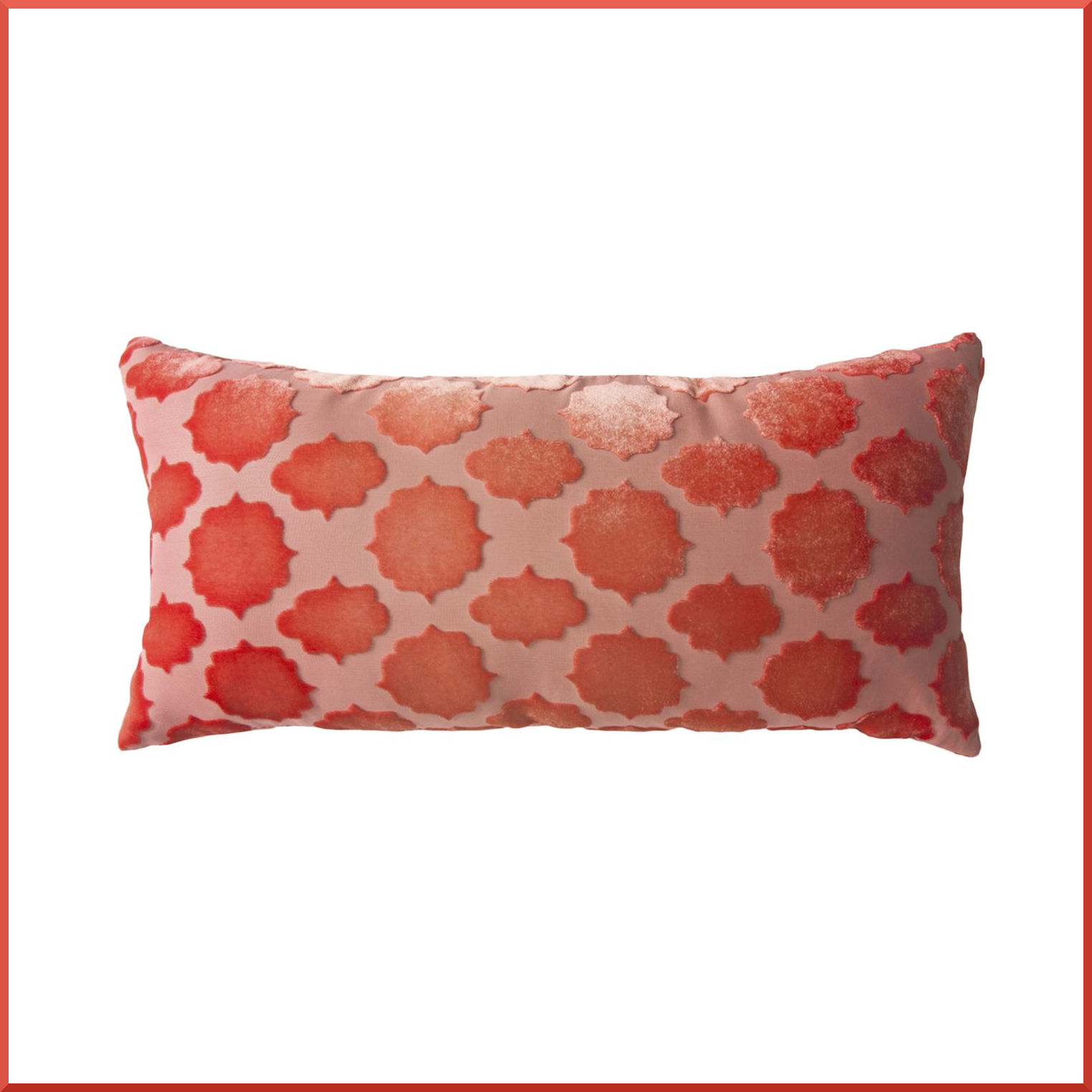 Kevin OBrien Studio Mod Fretwork Velvet Dec Pillow