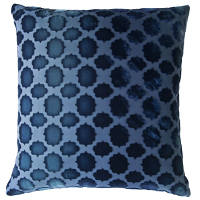 Kevin O'Brien Studio Mod Fretwork Velvet Dec Pillow
