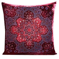 Kevin O'Brien Studio Moroccan decorative pillow is available in six colors.