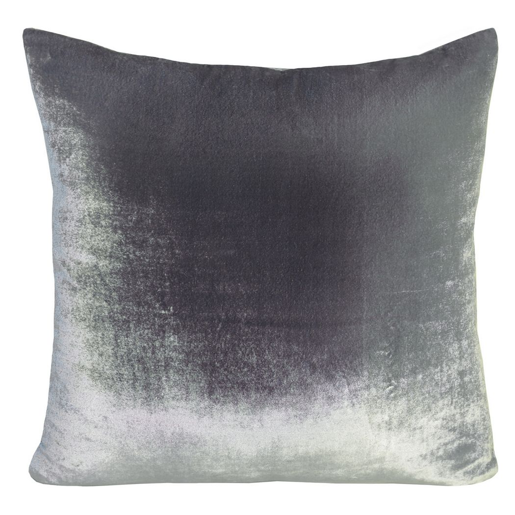 Lovely Kevin OBrien Studio Ombre Solid Velvet Decorated Pillows LW83