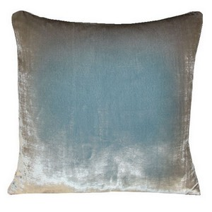 Kevin O'Brien Studio Ombre Solid Velvet Decorated Pillows