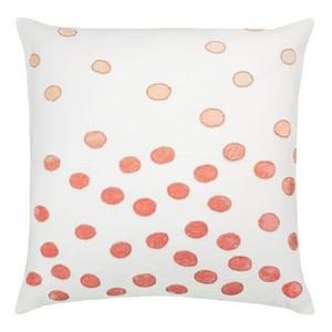 Kevin OBrien Studio Ovals Appliqued Velvet Linen Decorative Pillows