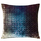 Kevin O'Brien Studio Velvet Petal Flowers Dec Pillow is made with Silk & Rayon Velvet.