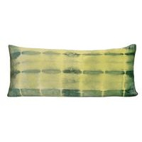 Kevin O'Brien Studio Rorschach 16x36 Decorative Pillows is available in Citron color.