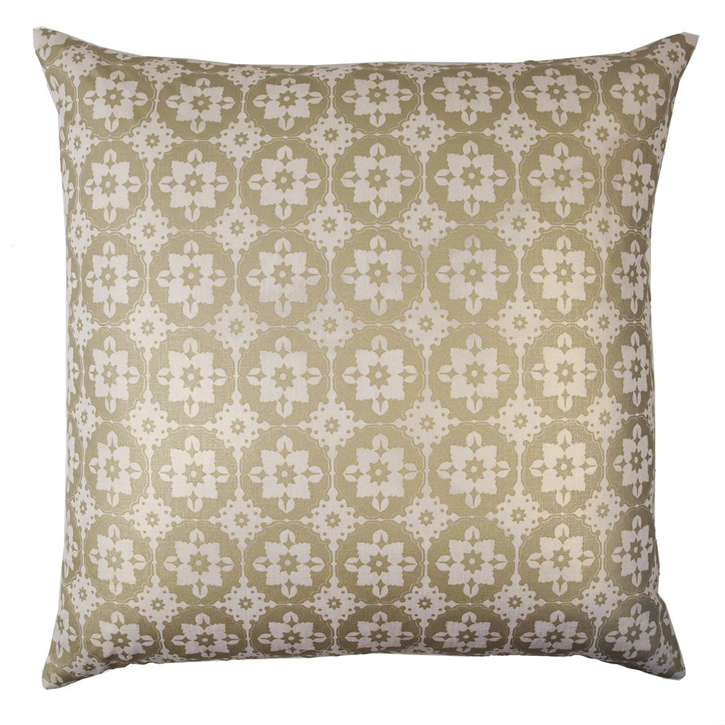 How To Make A Small Decorative Pillow : Discontinued Kevin OBrien Studio Small Moroccan Metallic Linen Decorative Pillow