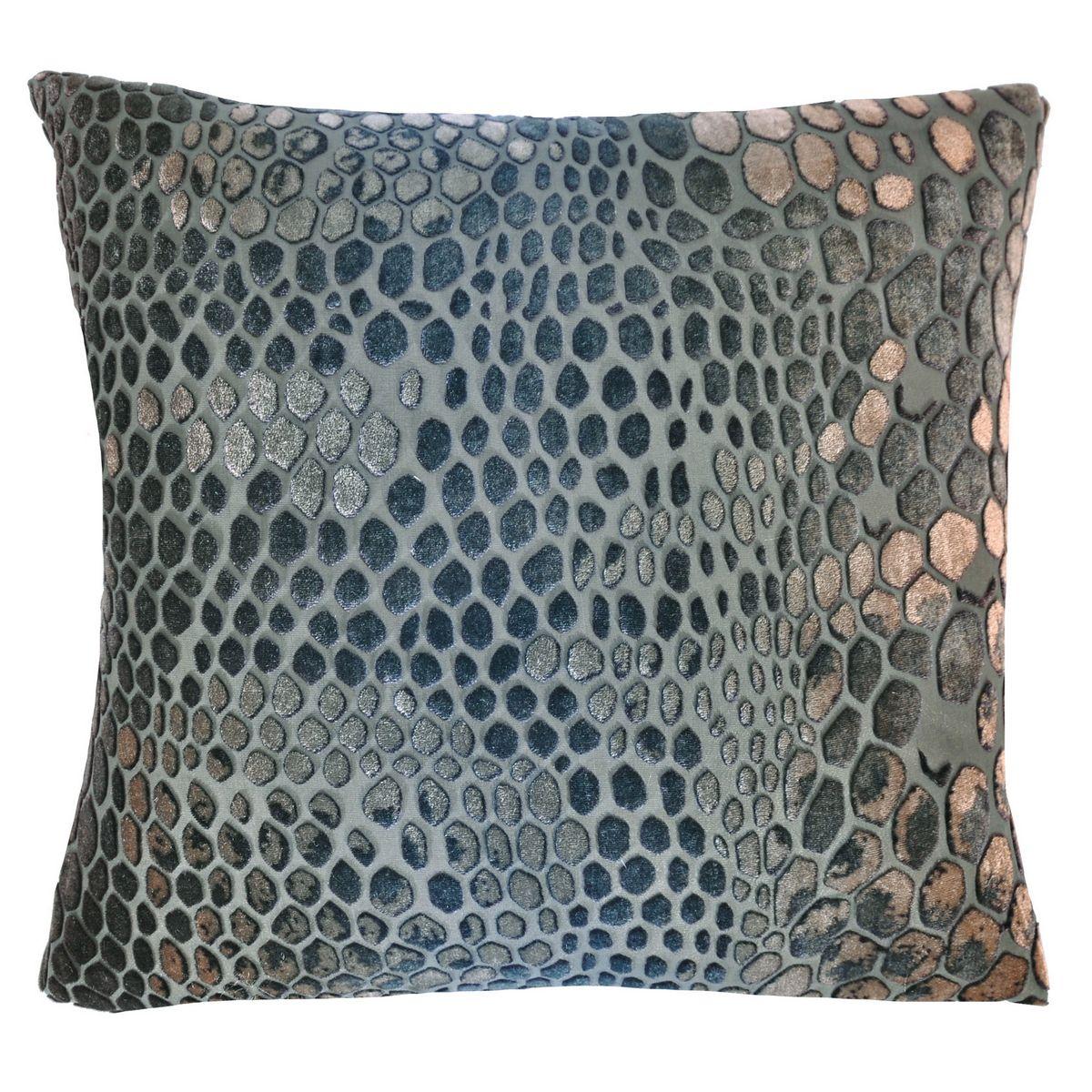 Completely new Kevin OBrien Studio Snakeskin Velvet Dec Pillow CA48