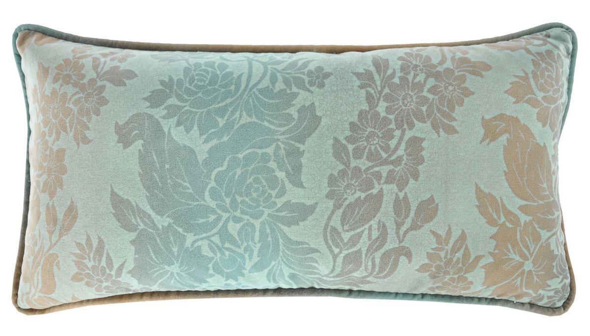 Dusty Blue Decorative Pillows : Discontinued Kevin OBrien Studio Tapestry Glazed Cotton Velvet Dec Pillow