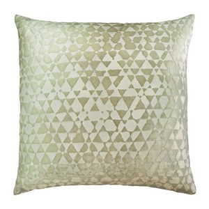 Kevin O'Brien Studio Triangles Velvet Dec Pillow