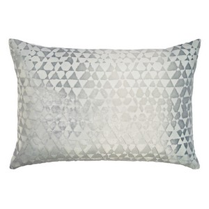 Kevin O'Brien Studio Triangles Velvet Dec Pillow