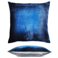 Kevin OBrien Studio Two Tone Ombre Decorative Pillow