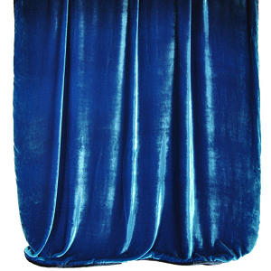 Kevin O'Brien Studio Ombre Velvet Throws are made with silk and rayon.