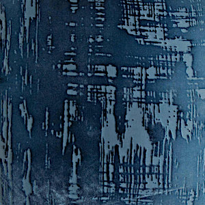 Kevin O'Brien Studio Brush Stroke Velvet Throw