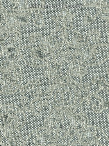 Leitner Camelot Table Linen Sample in Camelot Blue Fog color