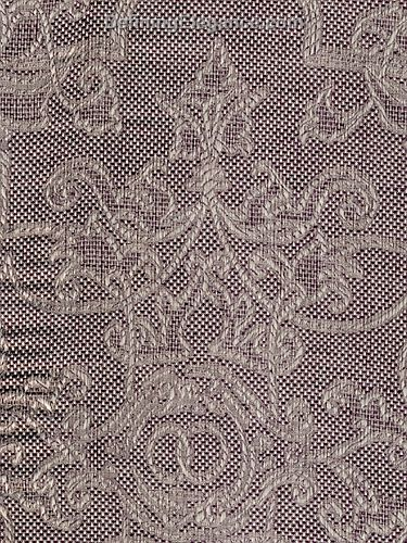 Leitner Camelot Table Linen Sample in Camelot Purple color