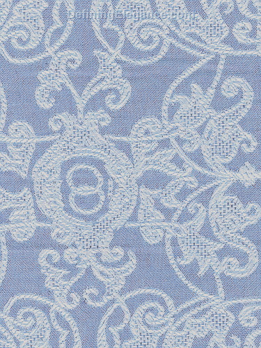 Leitner Flatweave Camelot Decorative Pillow fabric sample in Blue Fog color