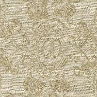 Linen woven with art resembling antique chandeliers interconnected to other chandeliers, will make a beautiful addition to any room.