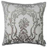 Create Hollywood glam with Lili Alessandra Platinum decorative pillows.