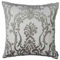 Create Hollywood glam with Lili Alessandra Platinum decorative pillows.