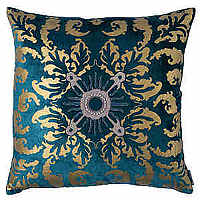 Lili Alessandra Royal with Accents of Gold is a collection of gorgeous pillows in rich colors and stunning design details.