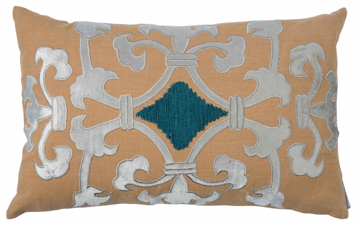 velvet keyword tone pillow wayfair lumbar navy blue jewel edwards pillows