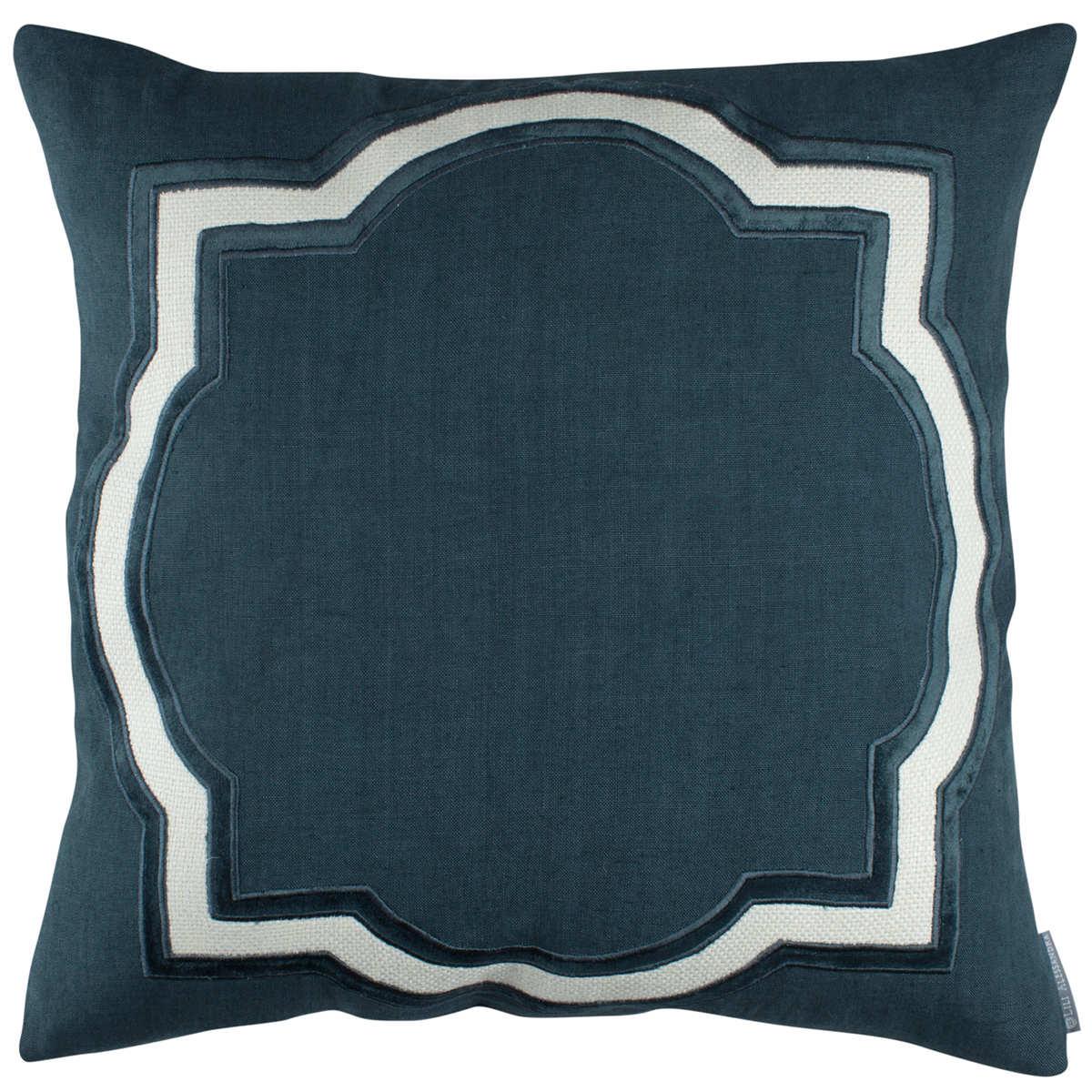 Lili Alessandra Barcelona Midnight Blue Pillows