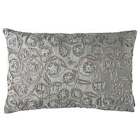 Lili Alessandra Accents with Silver Beads Decorative pillows.