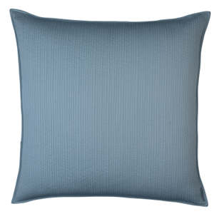 Lili Alessandra Retro Blue Quilted S&S Pillow
