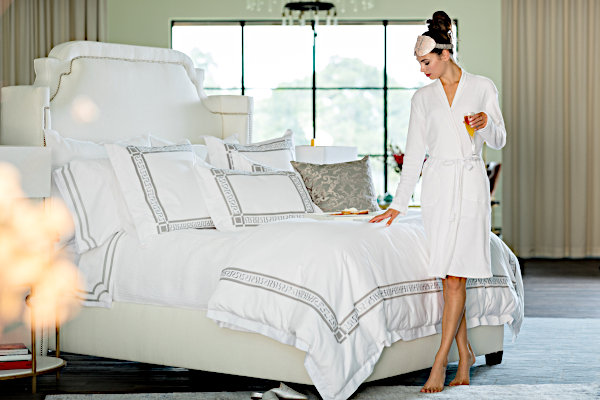 Lili Alessandra Dimitri White with Retro Bedding Collection