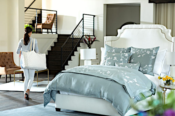 Lili Alessandra Gia with Blossom Bedding Collection