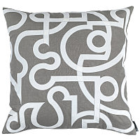Lili Alessandra Geo Linen with Velvet Applique Pillow Collection