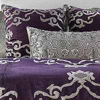 Lili Alessandra Plum Velvet Decorative Pillows & Throws