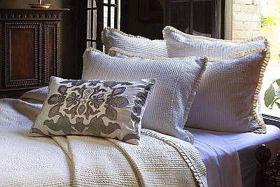 Lili Alessandra  Lili Alessandra Battersea Quilted Bedspread Collection