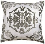 Lili Alessandra Morocco Ivory Dec Pillows