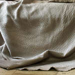 Lili Alessandra Battersea Quilted Bedspread in Taupe