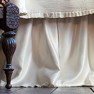 Lili Alessandra Battersea Gathered 3 Panel Bed Skirt
