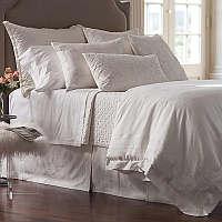 White on white describes this bedding.