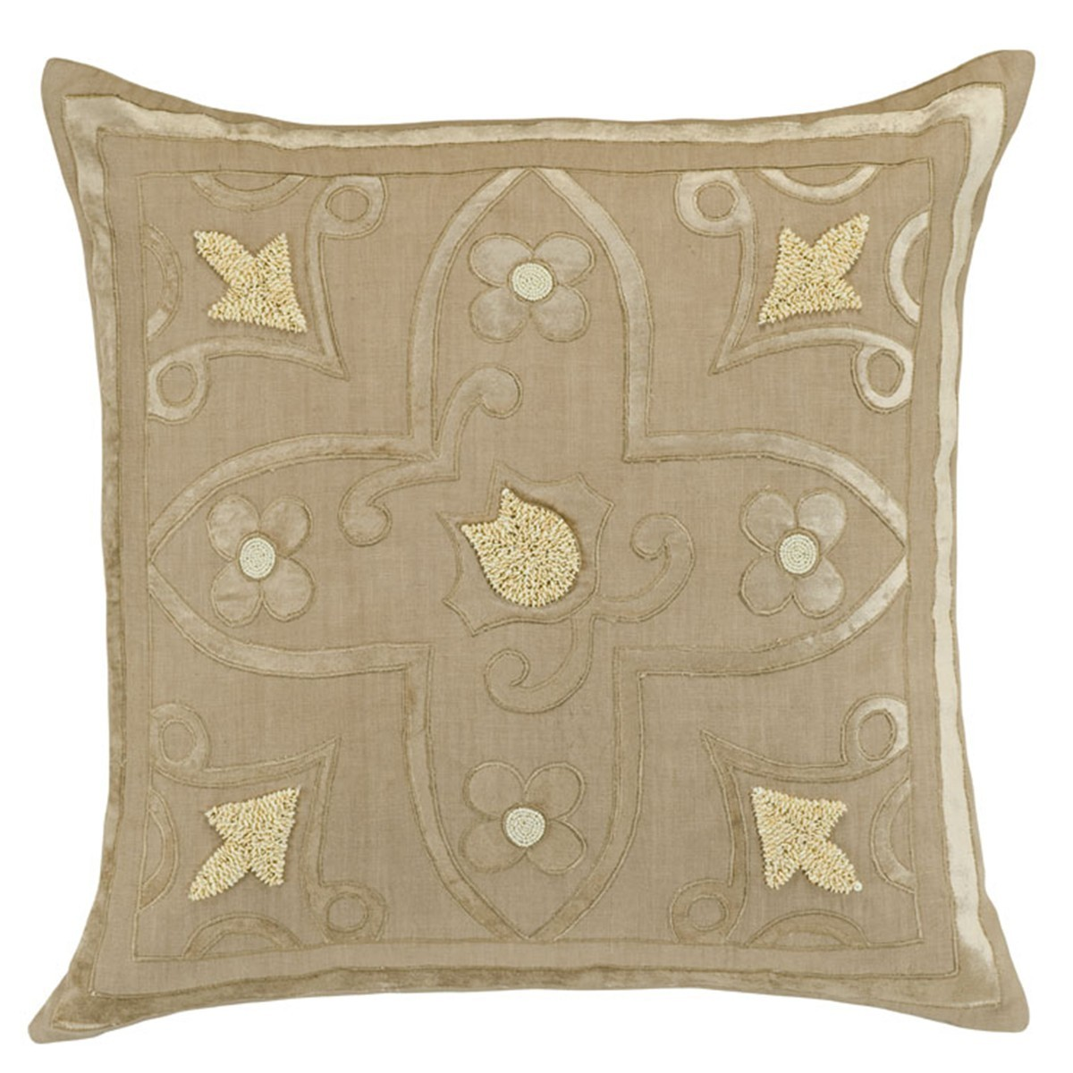 Decorative Pillow With Pearls : Discontinued Lili Alessandra Accents with Pearls Decorative Pillows