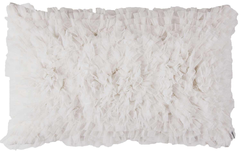 Decorative Pillows White 14x22