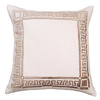 Mix or match these eloquent Dimitri decorative pillows that will display a layout that promises to enrich the display area.