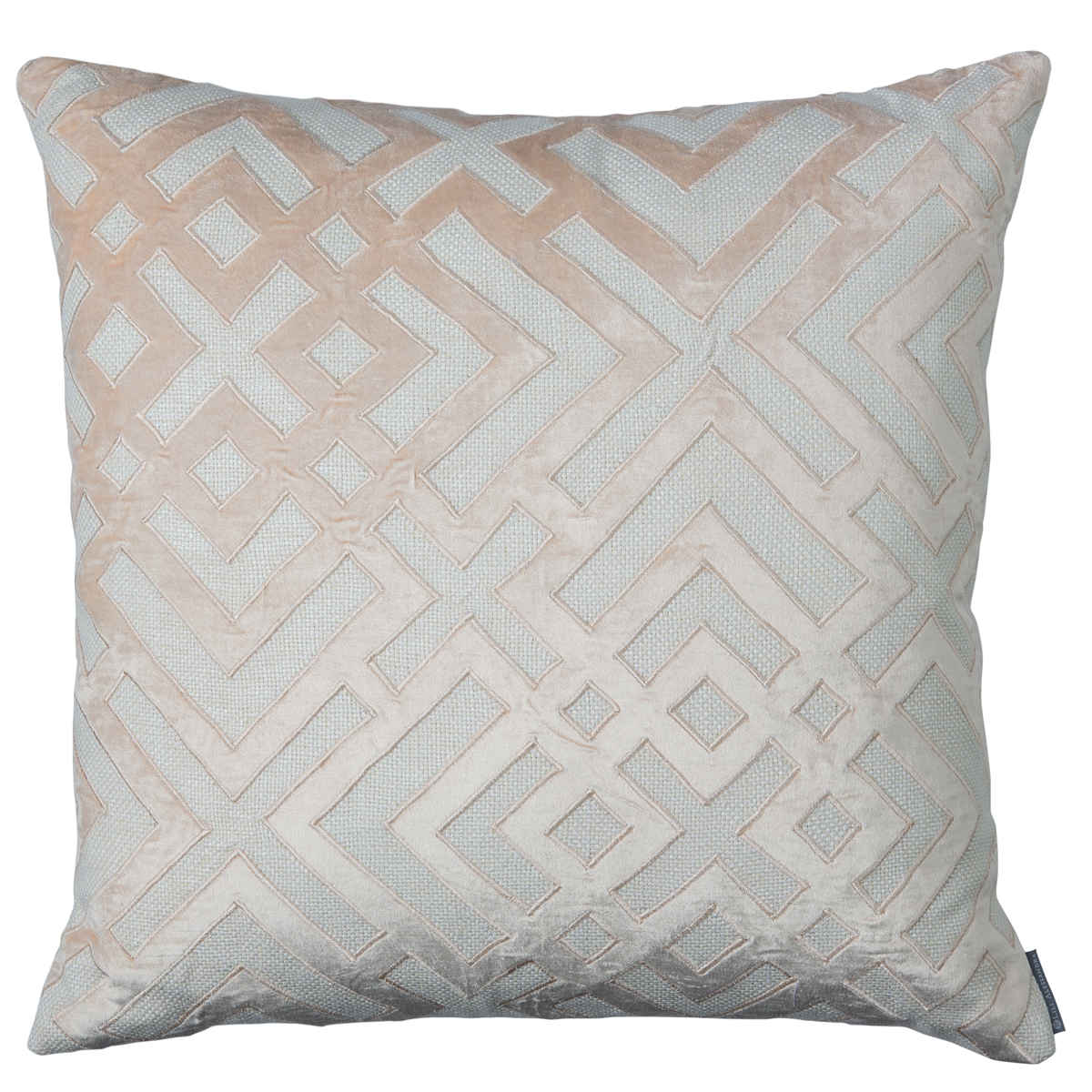 decorative pillow christian sq throw guy valencia velvet ivory blush coco pillows lili alessandra v karl l basketweave