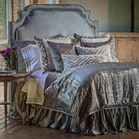 Dress your bed with glamourous coordinated bedding from Lili Alessandra.