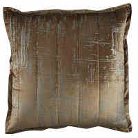 Lili Alessandra Moderne Straw Velvet/Silver Print Quilted Swatch