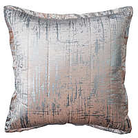 Lili Alessandra Moderne Blush Velvet/Silver Print Quilted Swatch