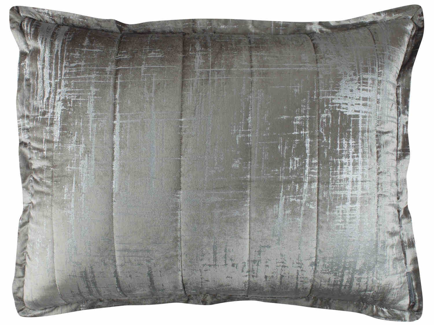 lili alessandra moderne silver print quilted u0026 pillows as shown on