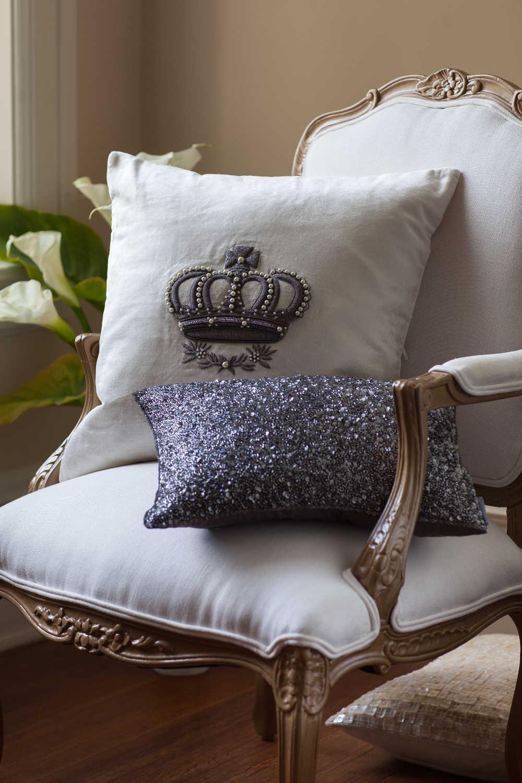 cotton pillow throw pillows metallic tan gold leopand cover pin