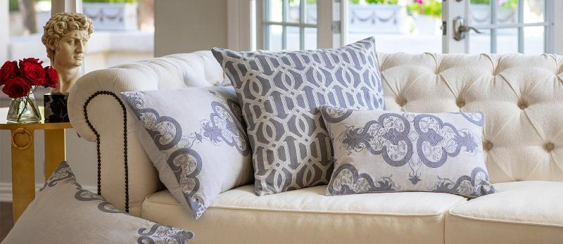 Lili Alessandra Nina & Bracelet Sand Linen Decorative Pillows